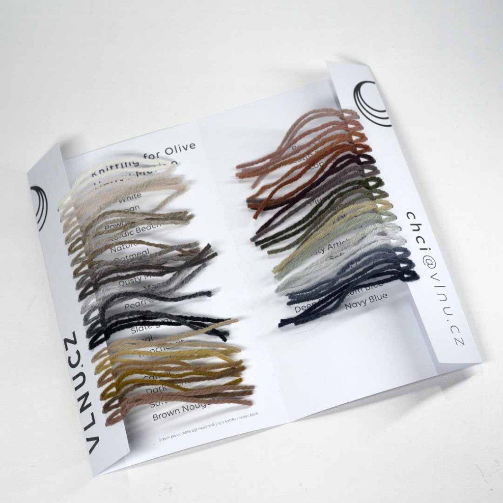 Vzorník - Knitting for Olive Heavy Merino