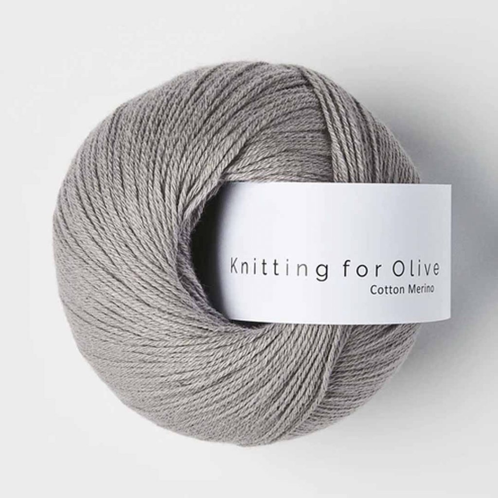 Knitting for Olive Cotton Merino - Purple Elephant