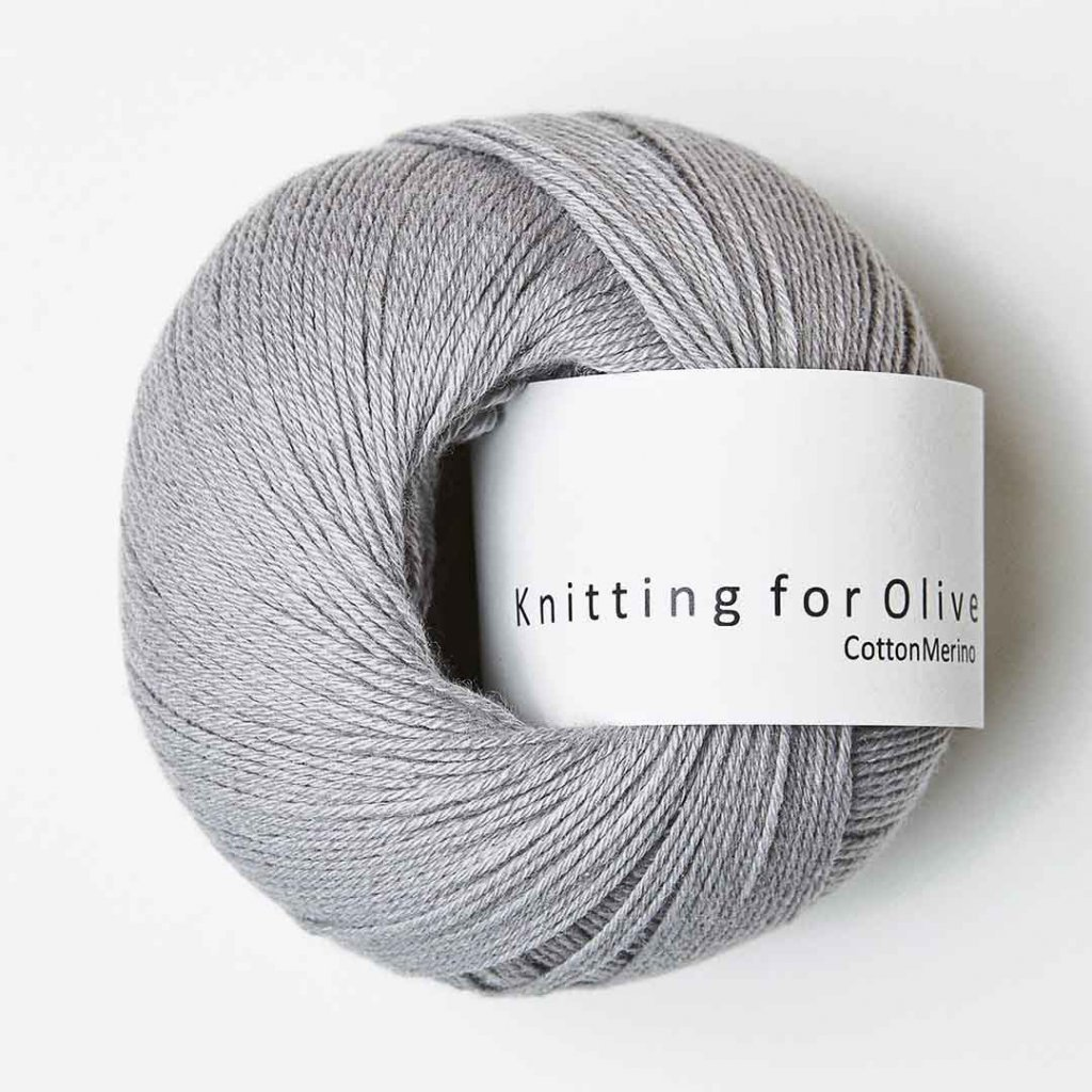 Knitting for Olive Cotton Merino - Mousy Gray