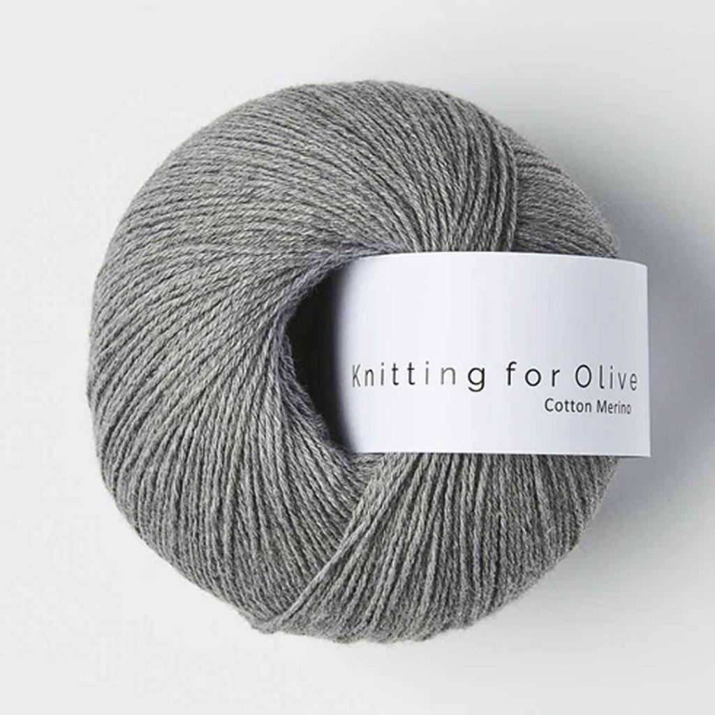 Knitting for Olive Cotton Merino - Koala