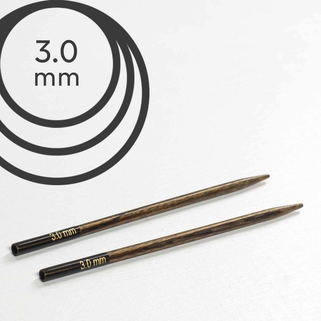 Jehlice kruhové výměnné Knit Pro ginger - 3.00 mm (zkrácené)