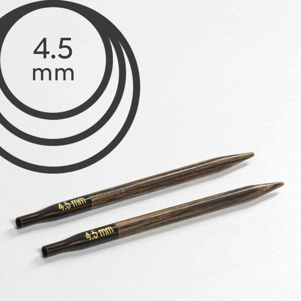 Jehlice kruhové výměnné Knit Pro ginger - 4.50 mm (zkrácené)