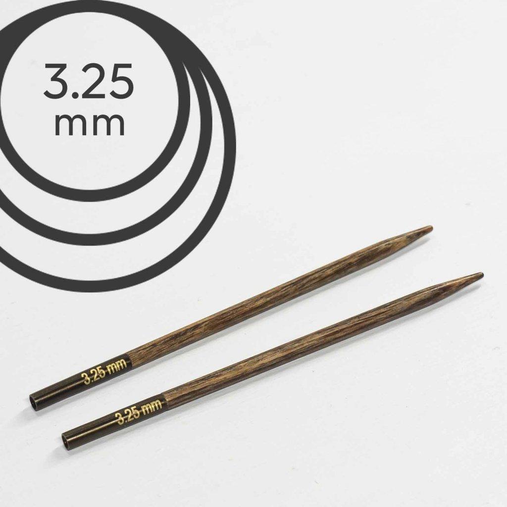 Jehlice kruhové výměnné Knit Pro ginger - 3.25 mm (zkrácené)