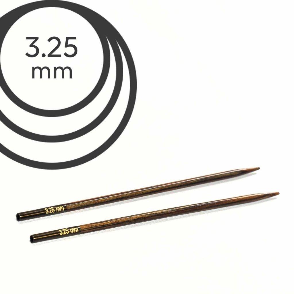 Jehlice kruhové výměnné Knit Pro ginger - 3.25 mm