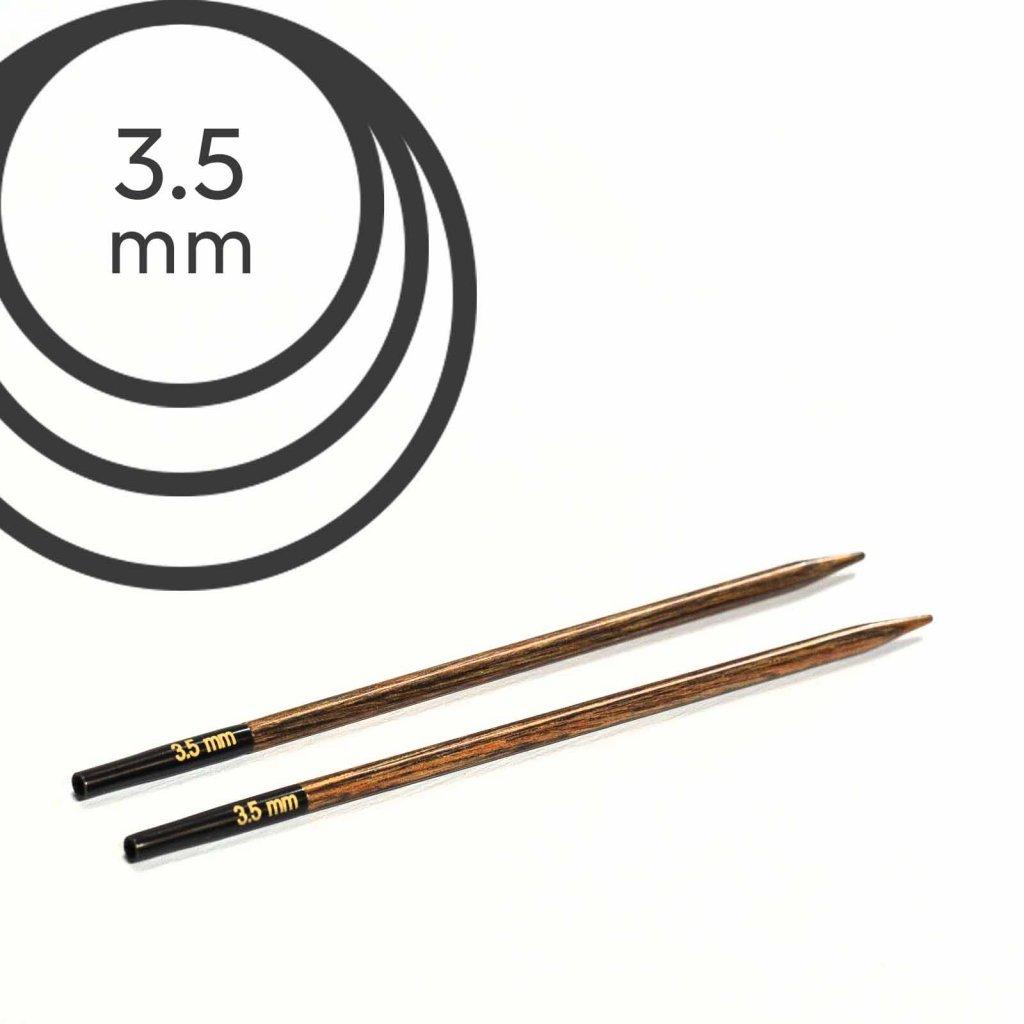 Jehlice kruhové výměnné Knit Pro ginger - 3.50 mm