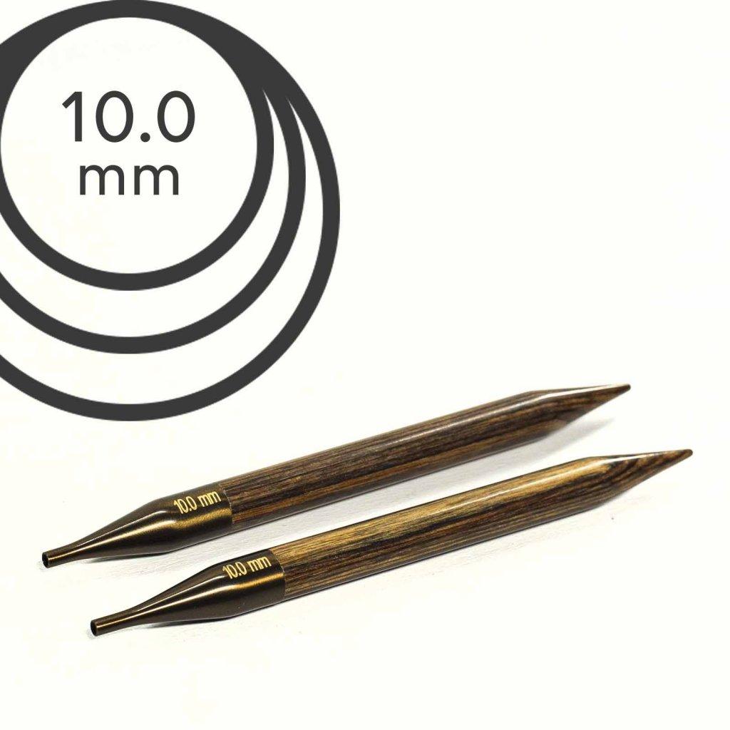 Jehlice kruhové výměnné Knit Pro ginger - 10.00 mm