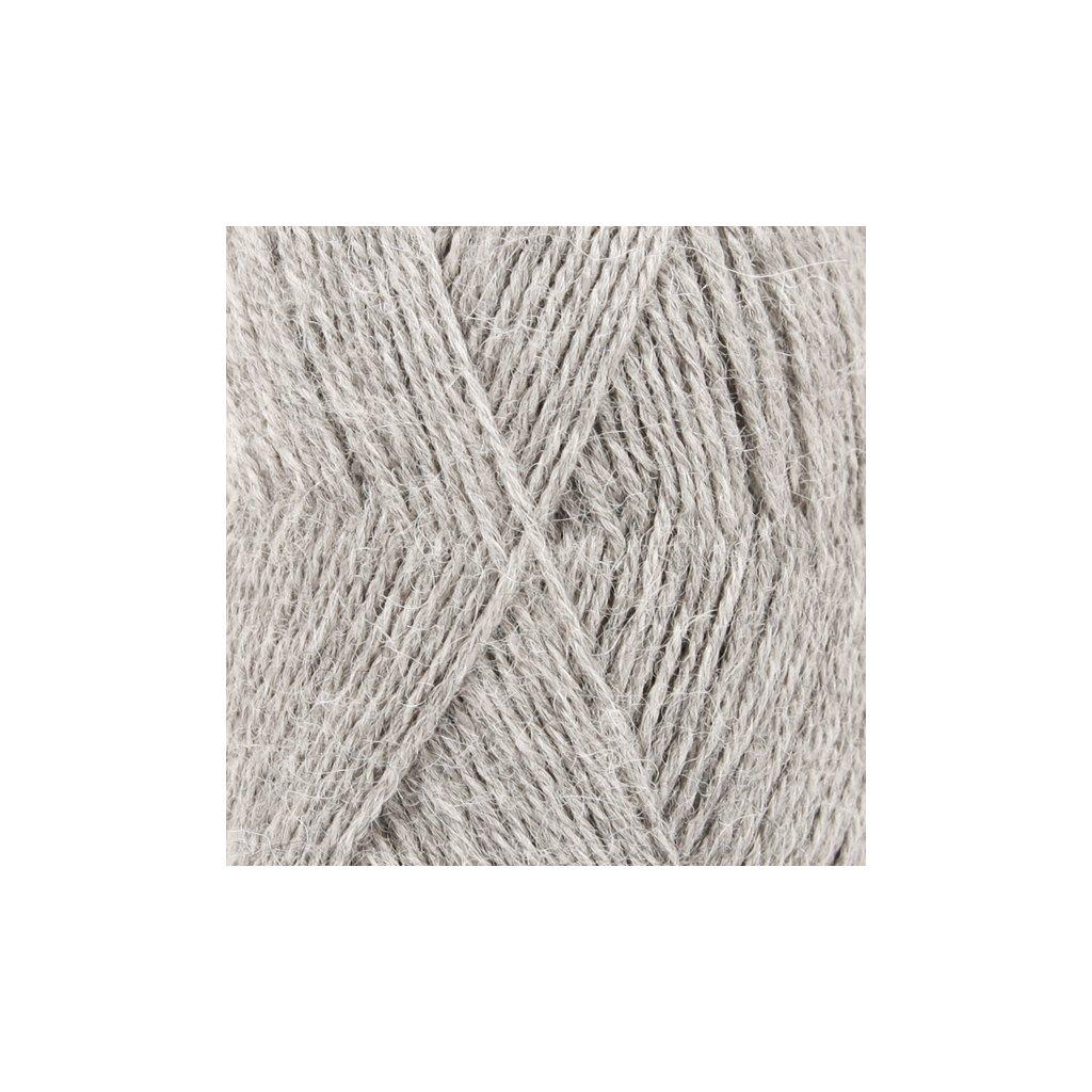Drops Alpaca MIX 9020 - stříbrošedá