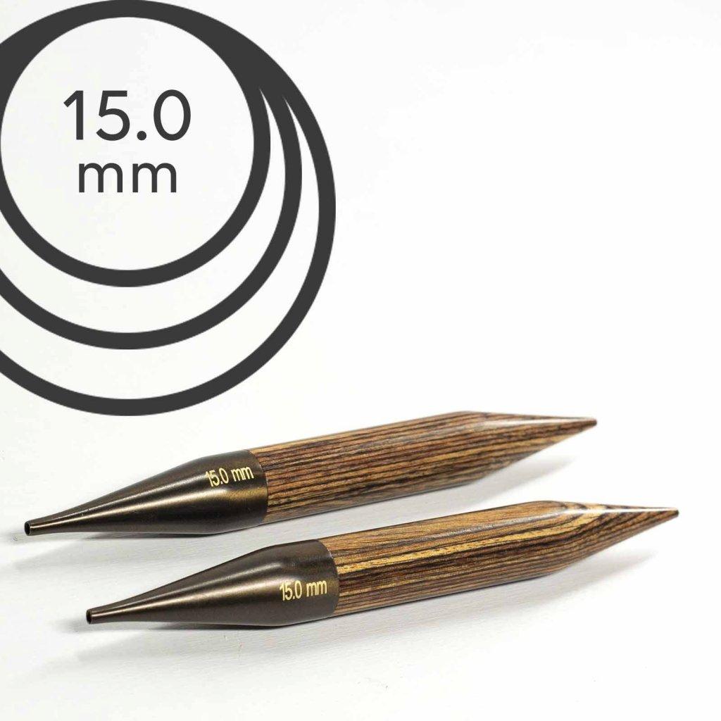 Jehlice kruhové výměnné Knit Pro ginger - 15.00 mm