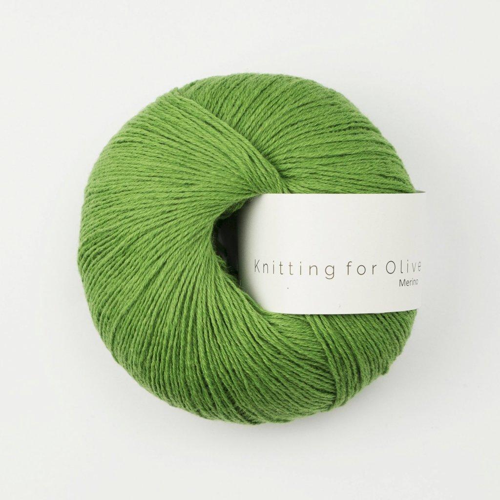 Knitting for Olive - Clover green