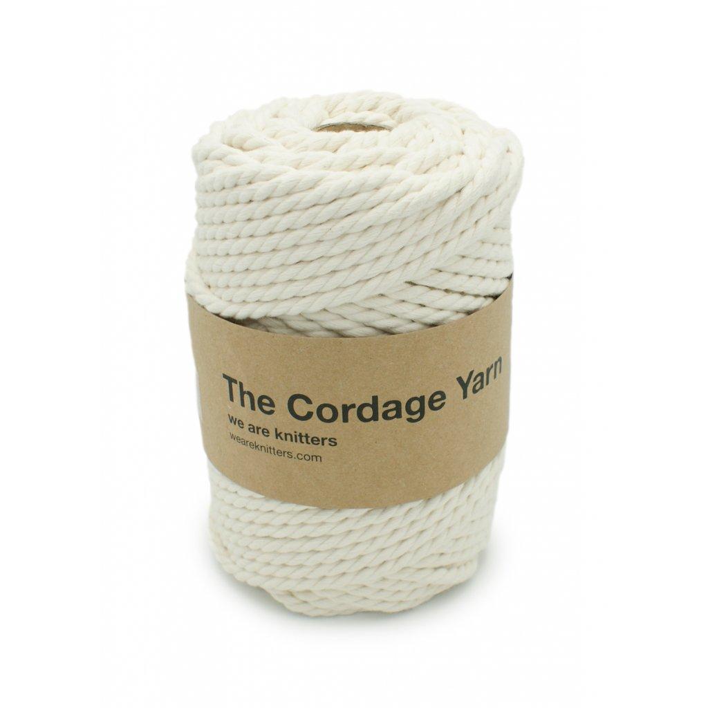 skein cotton macrame pet cordage yarn white en 01 1