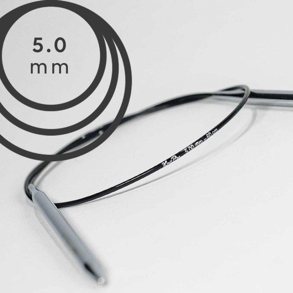 Pevné kruhové jehlice PRO CLASSIC 60cm - 5,00 mm