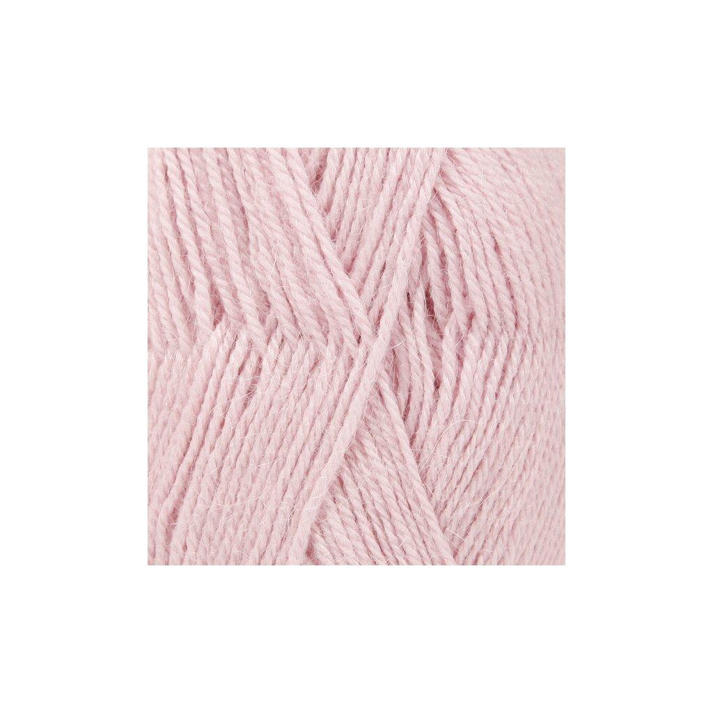 Drops Alpaca UNI 3112 - pudrová růžová