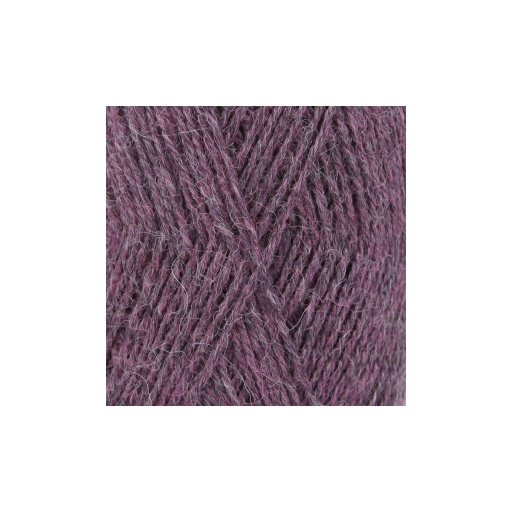 Drops Alpaca MIX 9023 - temná fialová