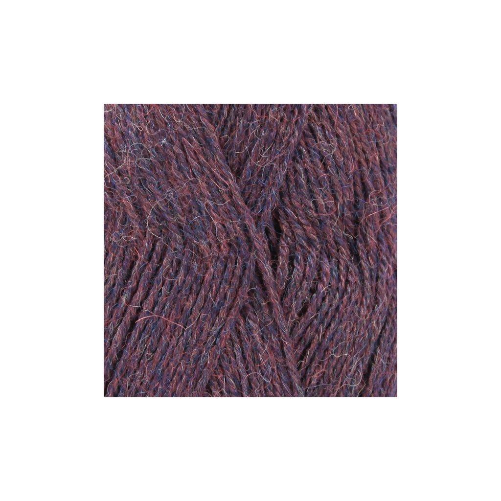 Drops Alpaca MIX 6736 - burgundy