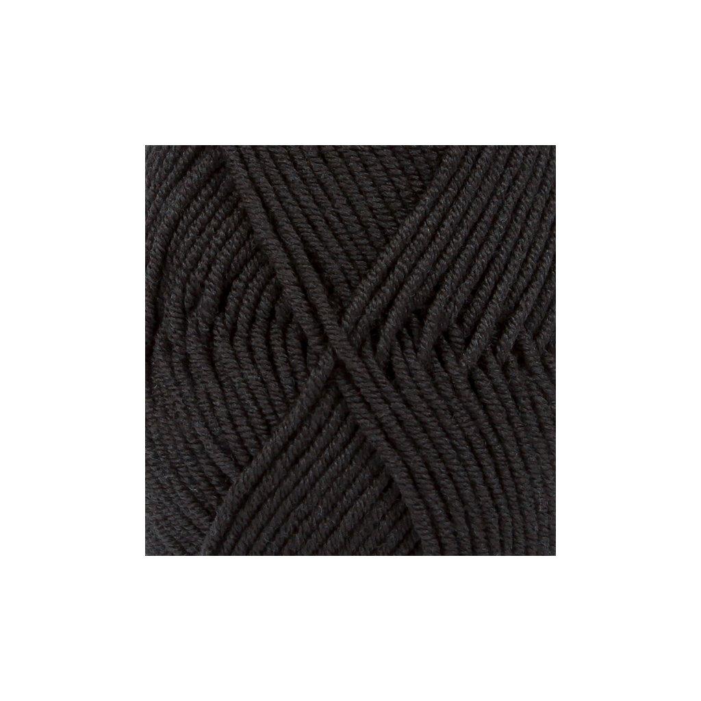 Drops Merino Extra Fine 02 - černá
