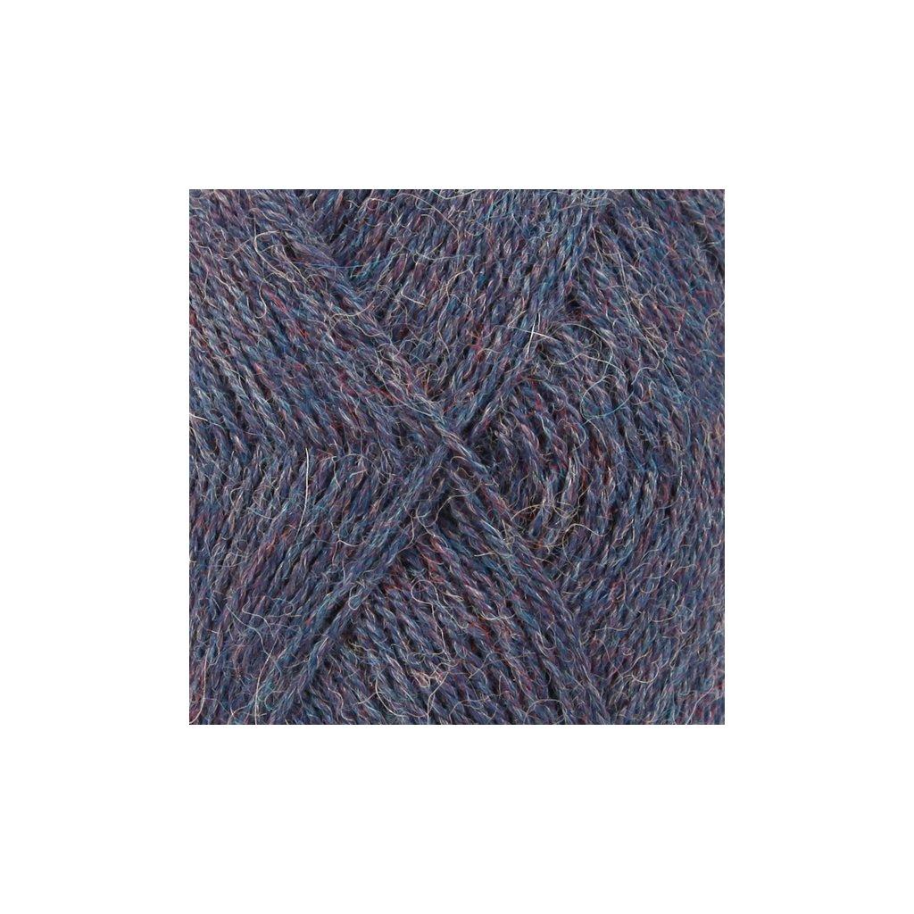 Drops Alpaca MIX 6360 - tmavá modrá