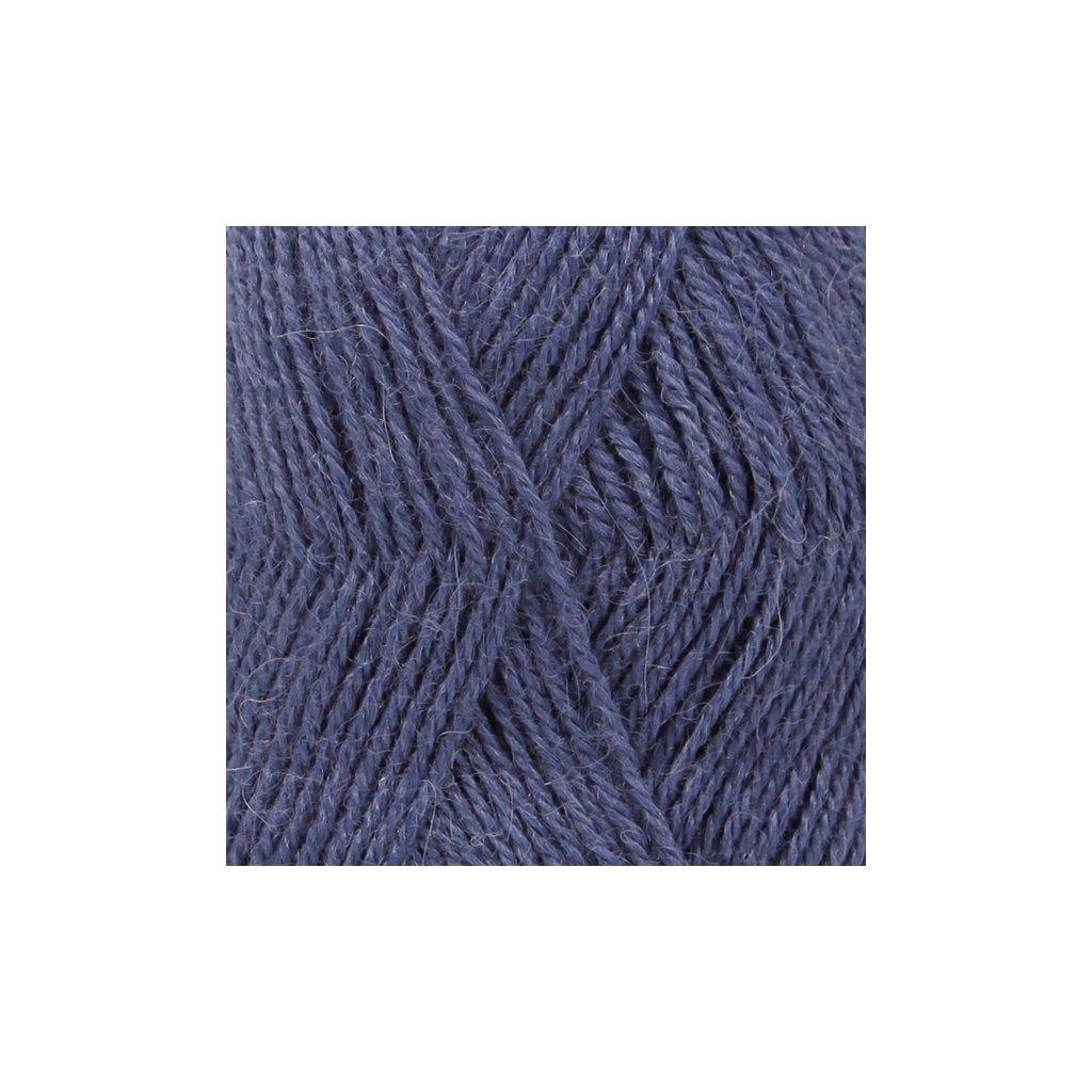 Drops Alpaca UNI 6790 - kobaltová modrá