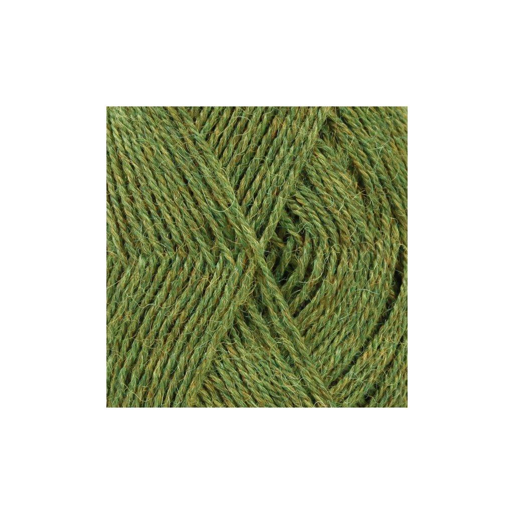 Drops Alpaca MIX 7238 - olivová