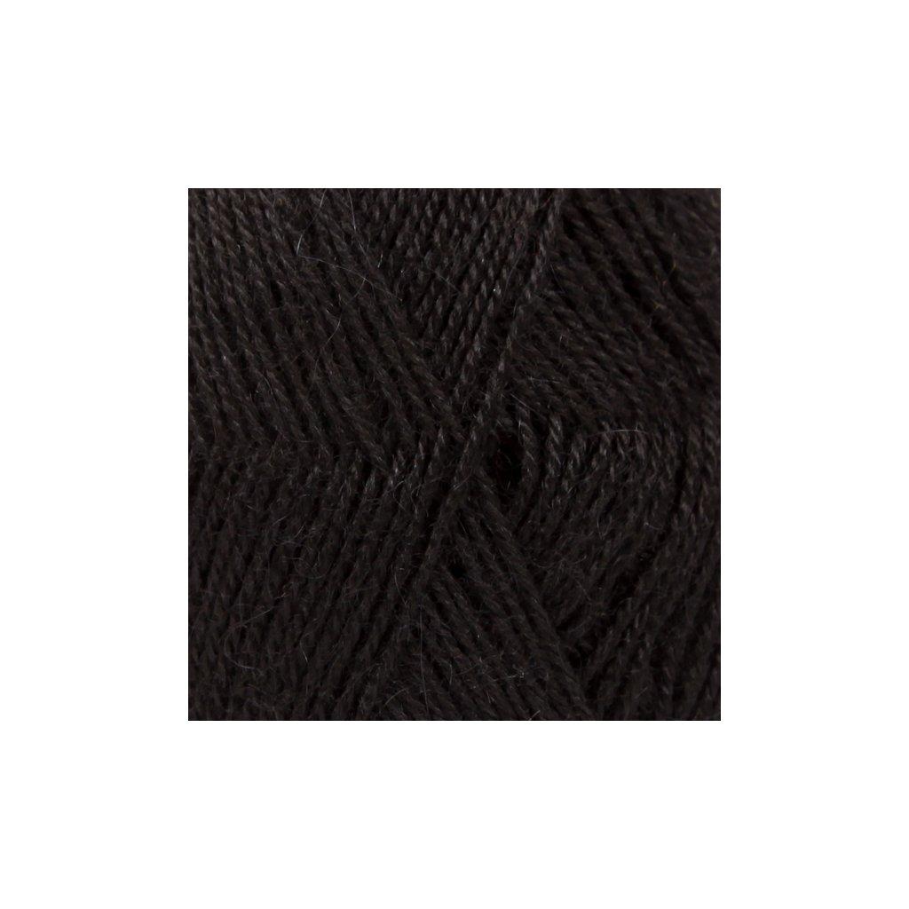 Drops Alpaca UNI 8903 - černá