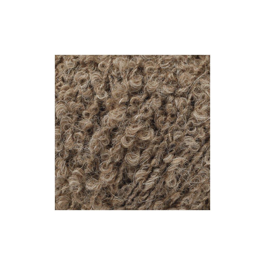 Drops Alpaca Bouclé 0602 - hnědá