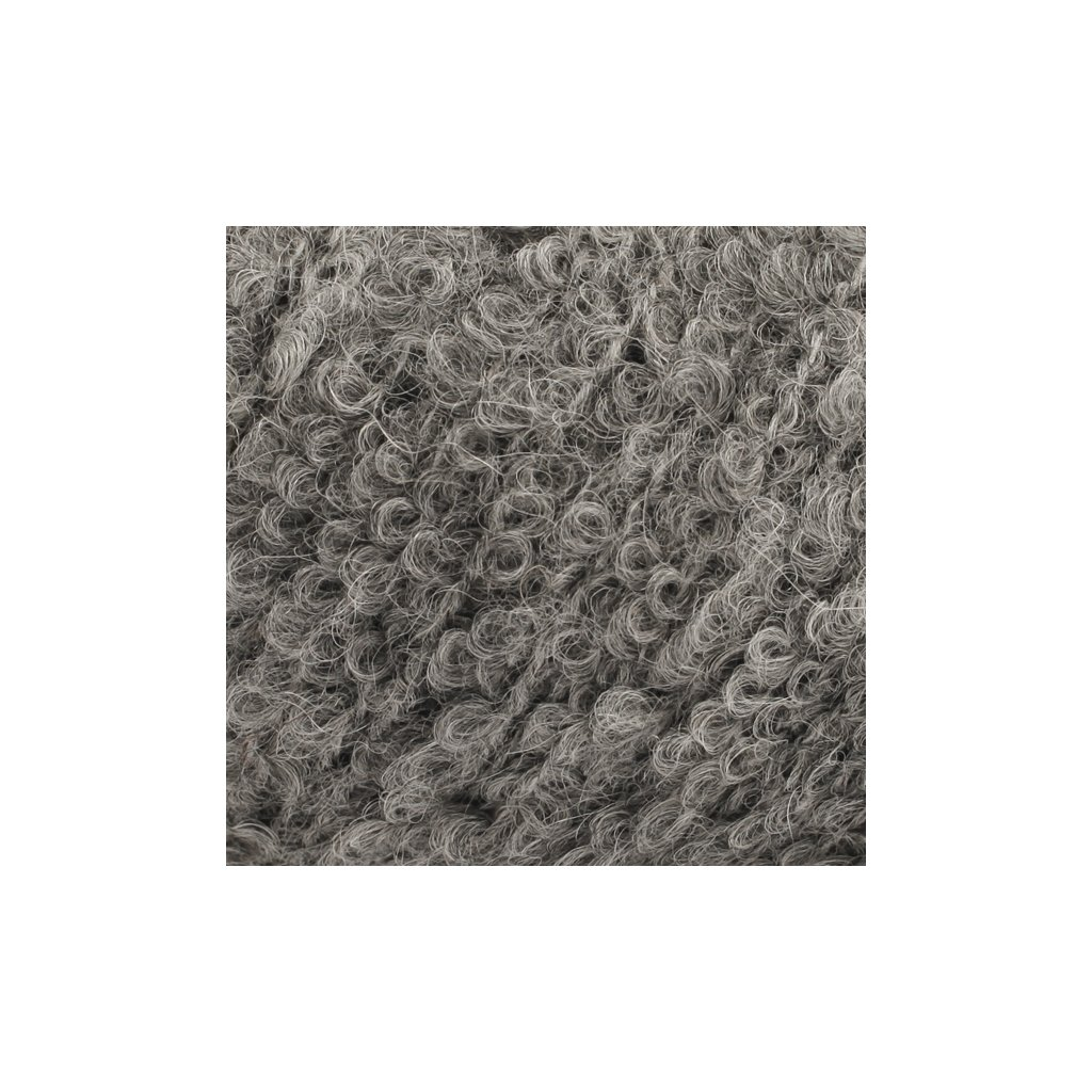 Drops Alpaca Bouclé šedá