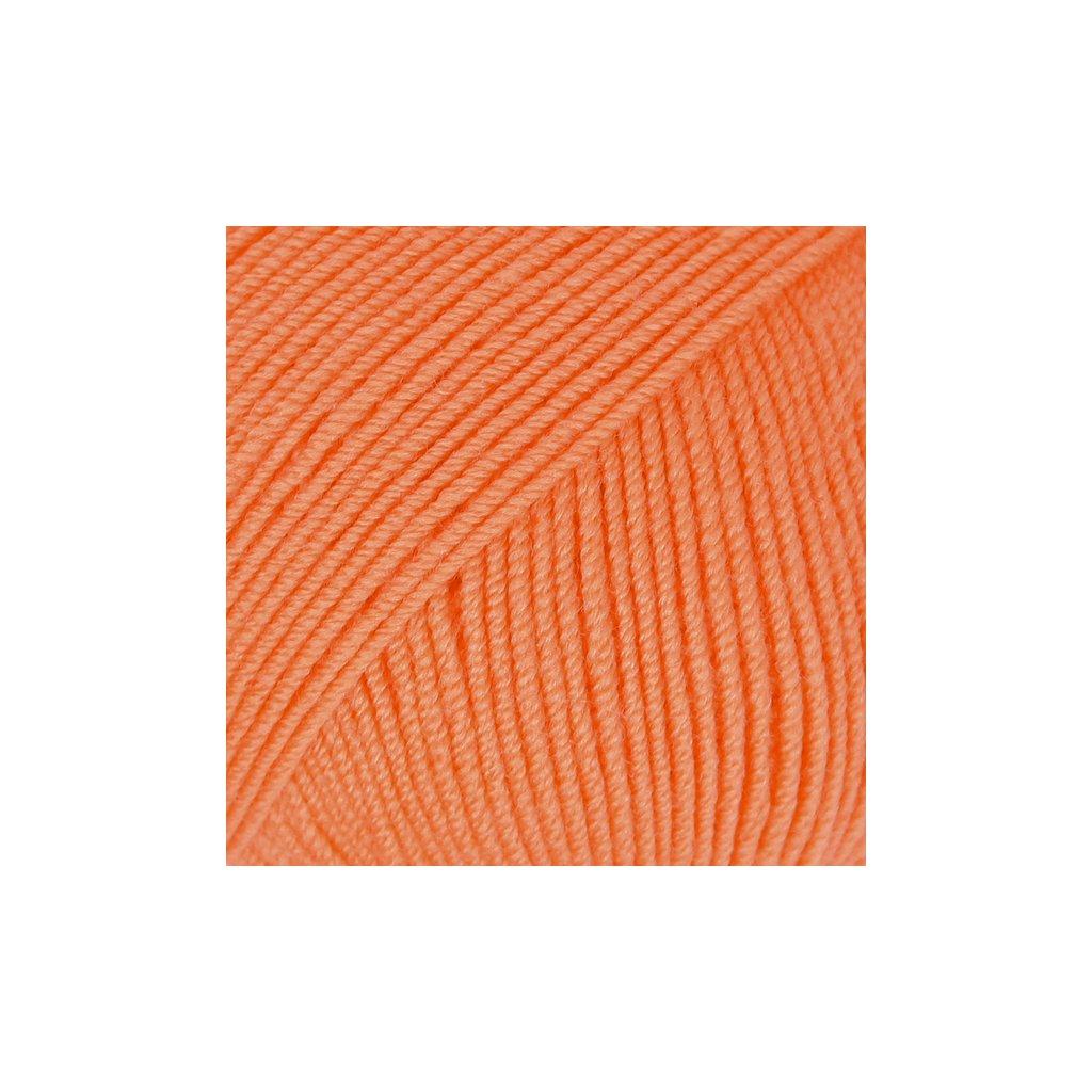 Drops Baby Merino 36 - oranžová
