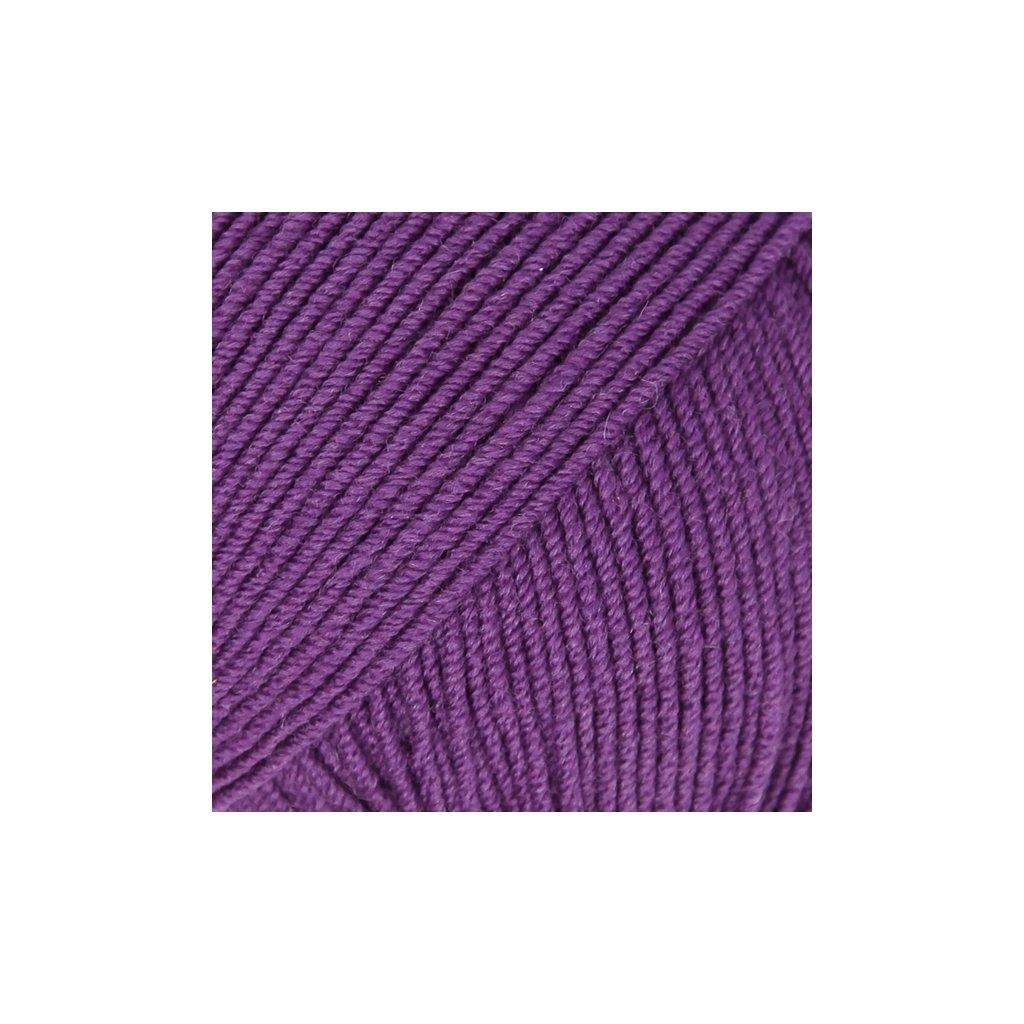 Drops Baby Merino 35 - tmavá fialová