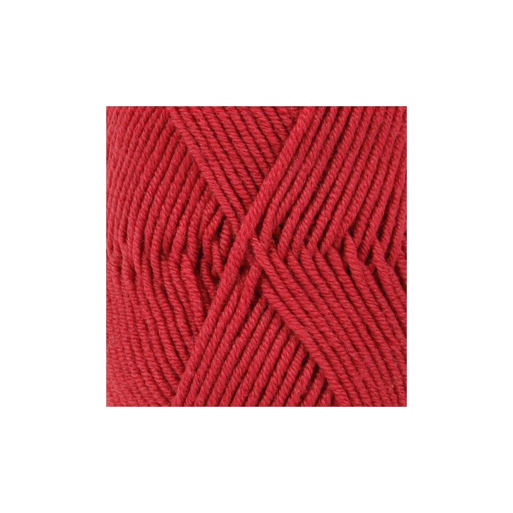 Drops Merino Extra Fine 11 - červená