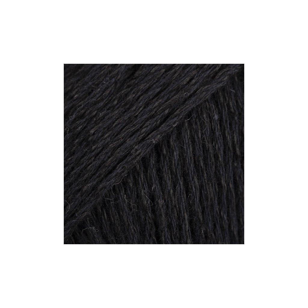 Drops Bomull-Lin 16 - černá