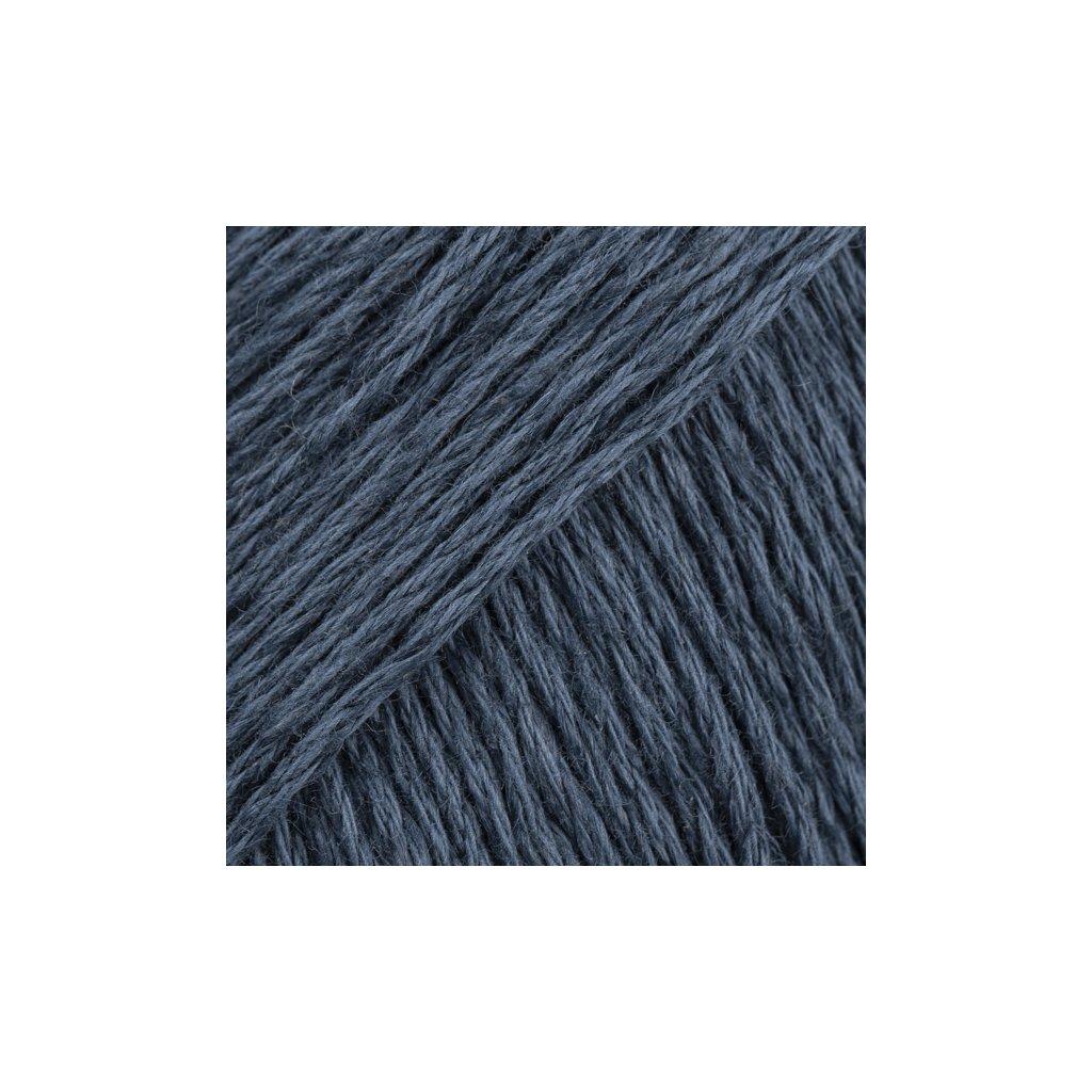 Drops Bomull-Lin 21 - tmavě modrá