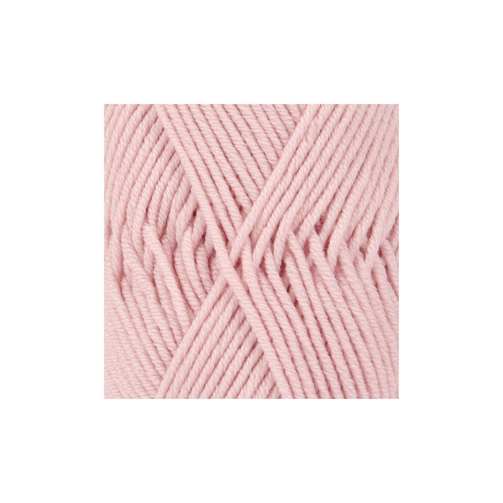 Drops Merino Extra Fine 40 - pudrově růžová