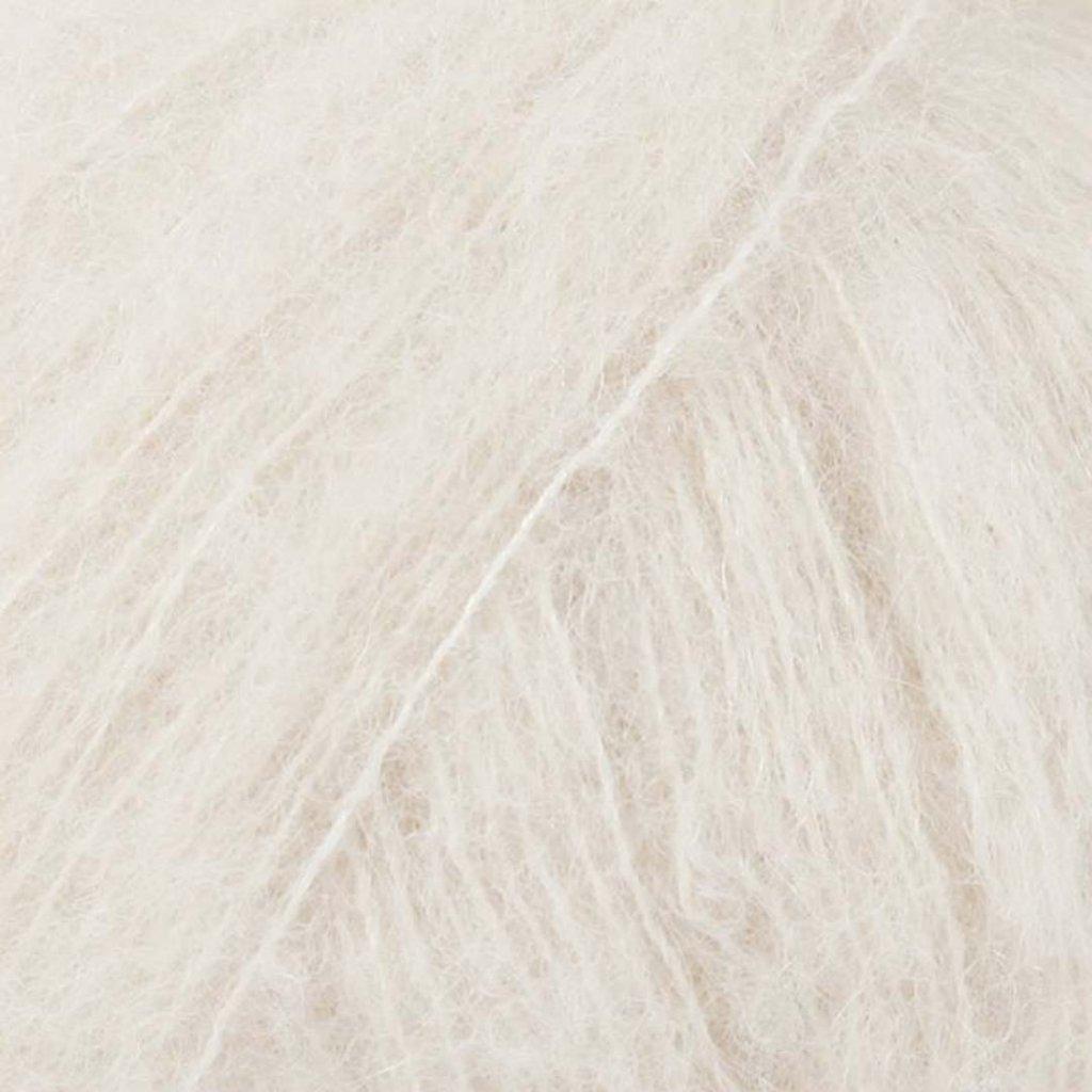 Drops Brushed Alpaca Silk 01 - smetanová