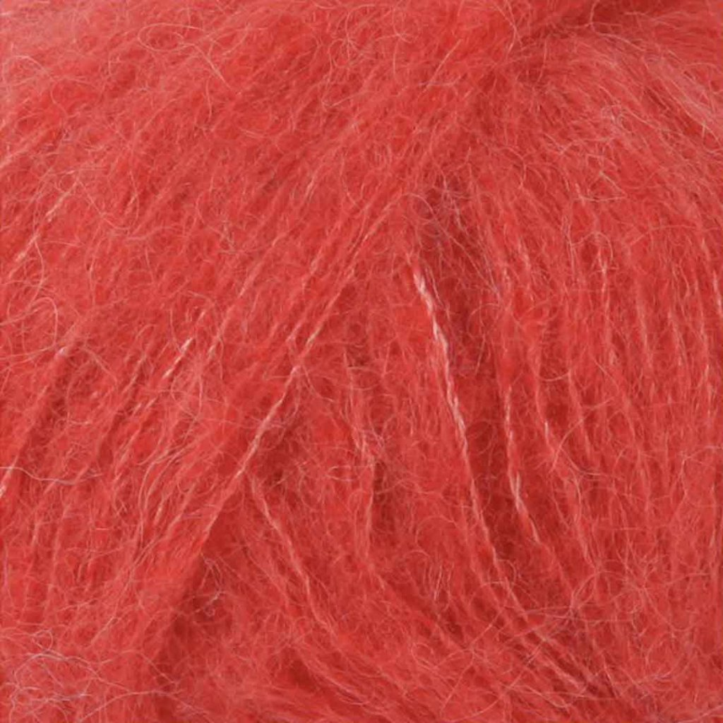 Brushed Alpaca Silk 06 - korálová
