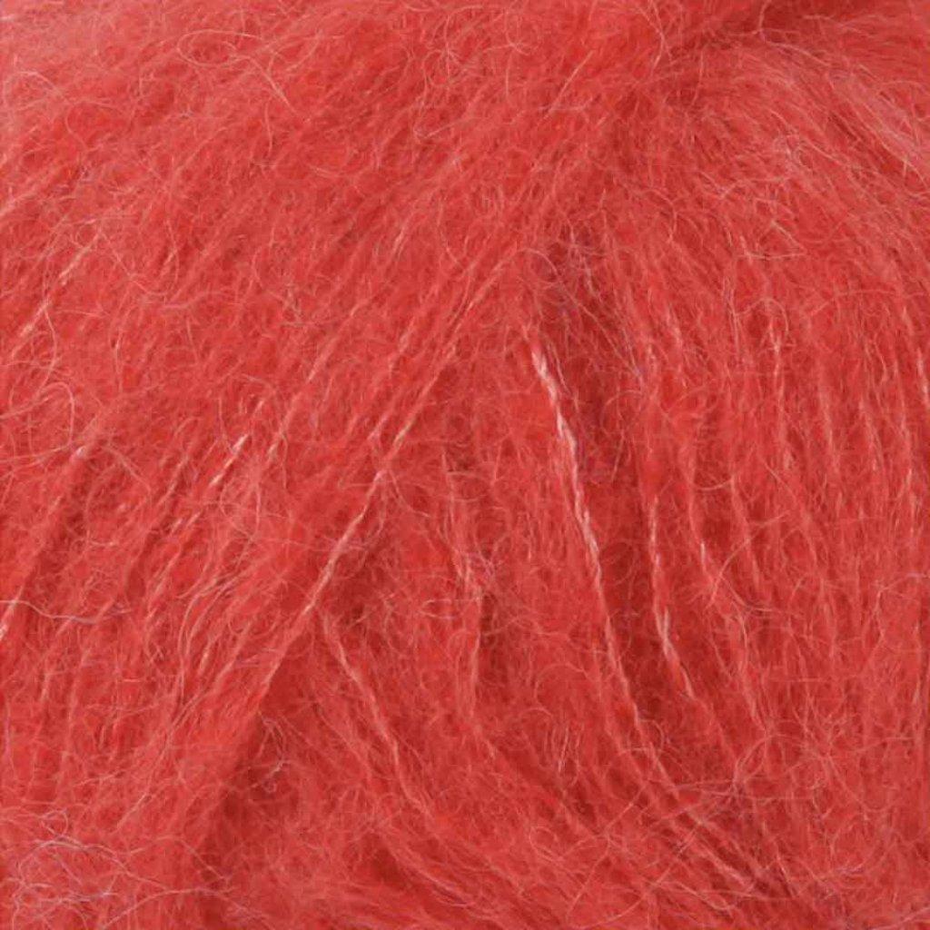 Drops Brushed Alpaca Silk 06 - korálová