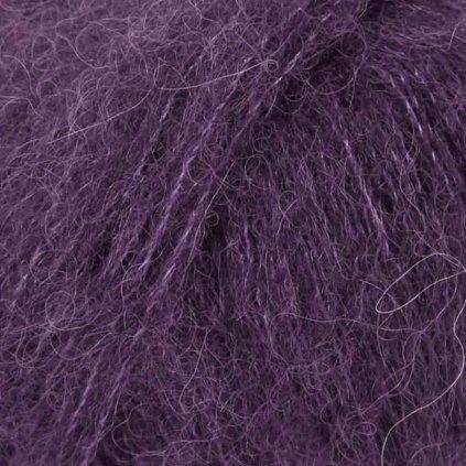 Brushed Alpaca Silk 10 - fialová