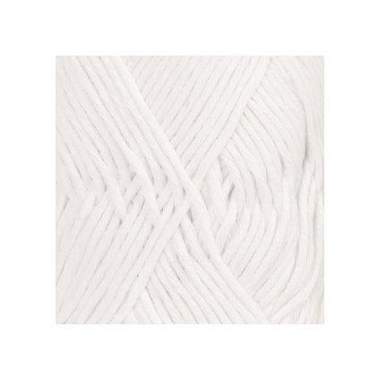 Drops Cotton Light 02 - bílá