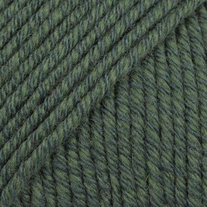 Drops Cotton Merino 22 - tmavá zelená