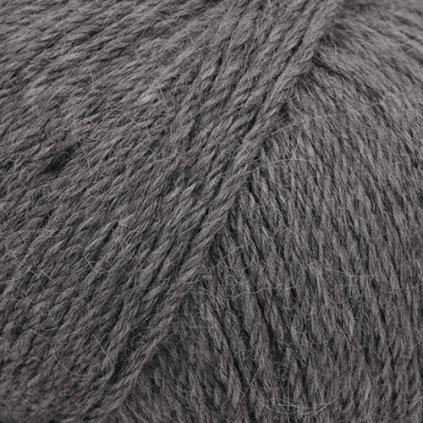 Drops Puna natural 05 - tmavá šedá