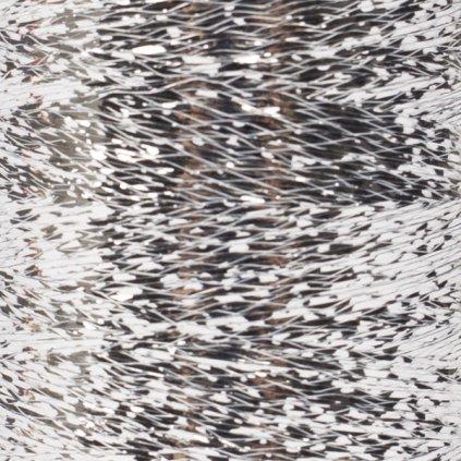 Drops Glitter 02 - stříbrná