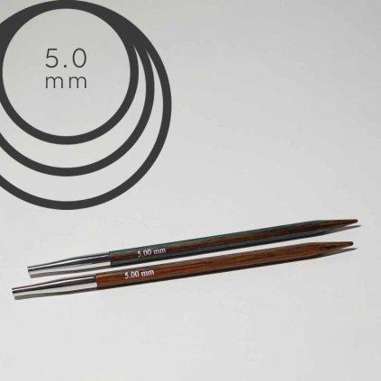 Jehlice kruhové výměnné 5.00 mm