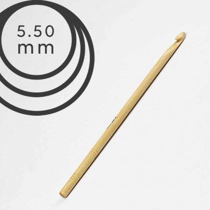 Háček Drops 5,5 mm dřevěný