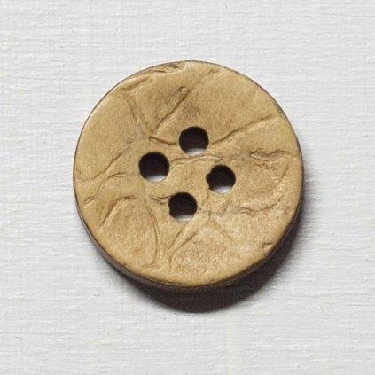 Knoflík Drops 515 - kokosový 20 mm