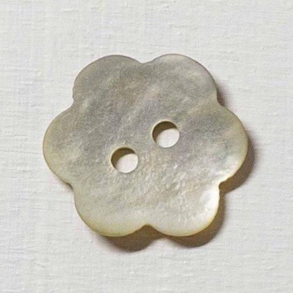 Knoflík Drops 600 - kytička 15 mm