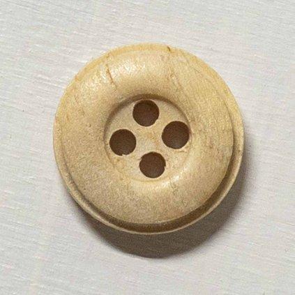 Knoflík Drops 503 - dřevěný 15 mm