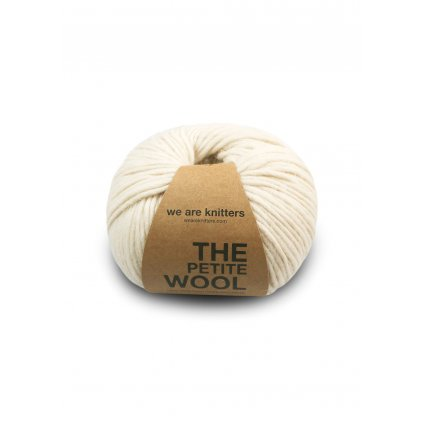 skein petite wool ivory EN 01
