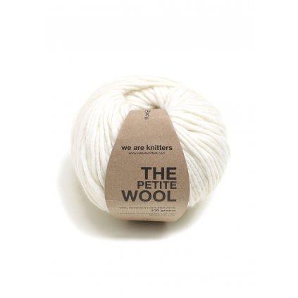 EN petite wool yarn balls knitting natural 1 WAK PET 0508 0