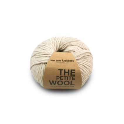 skein petite wool spotted beige EN 01