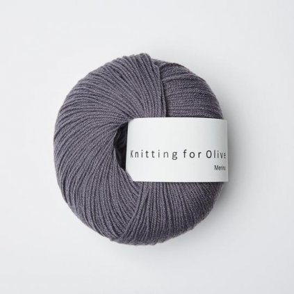 Knitting for Olive Merino - Dusty violet