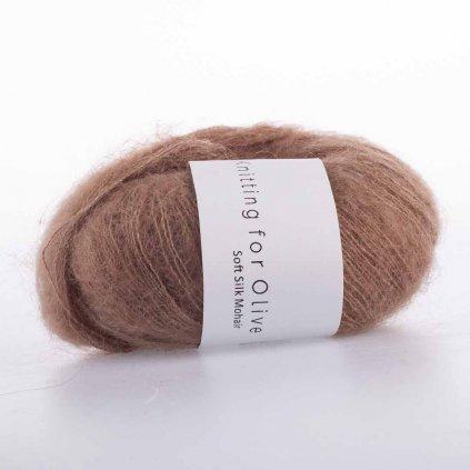 Knitting for Olive Soft Silk Mohair - Off-white