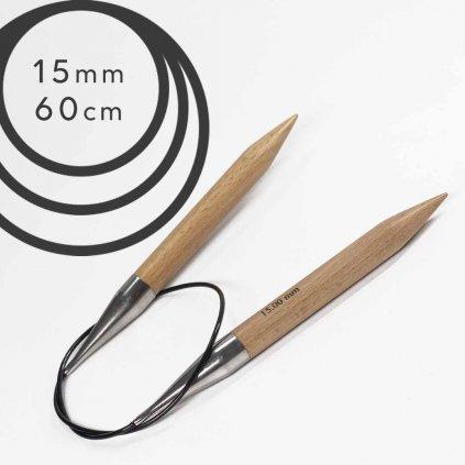 Pevné kruhové jehlice BASIC 15mm